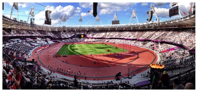 Olympic Stadium, London 2012